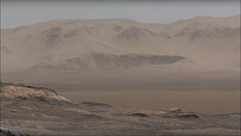 Un paesaggio marziano, spiegato dalla Nasa