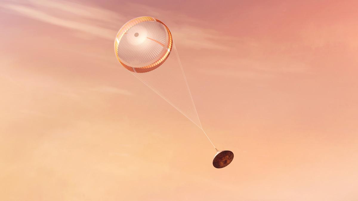 Paracadute Marte